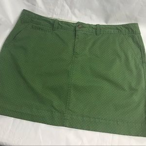 Old Navy Skirts - Old Navy polka dot Summer mini skirt. Size 12